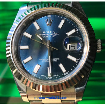 Rolex Datejust  Ref.116200 LC100 black jubilee dial, Box&Papers TOP
