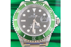 Rolex Submariner Date Ref.16610 LV Fat Four Y9 ...