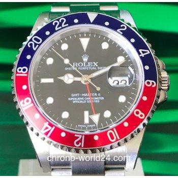 Rolex GMT-Master II Ref. 16710BLRO Stick Dial NOS / Cal.3186 unworn