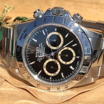 Rolex Daytona Zenith Ref. 16520 Patrizzi absolut FULL SET first owner