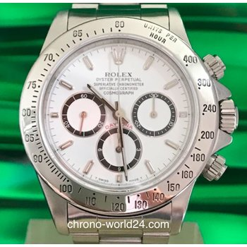 Rolex Daytona Zenith Ref.16520 serial n/box/papers new rolex service