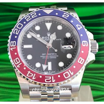 Rolex GMT-Master II Ref. 126710BLR0 Box/Papiere 2018 unworn