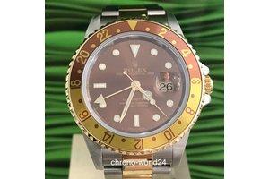 Rolex GMT - Master II Ref. 16713 tiger eye