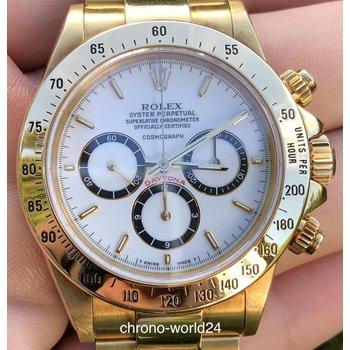 Rolex Daytona Zenith Ref. 16528 R9...porcelain dial Box&Papers TOP