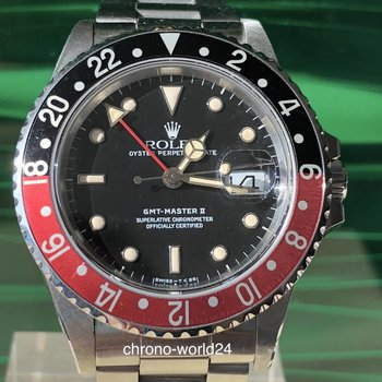 Rolex GMT - Master Ref. 16760 Fat Lady Box & papers TOP