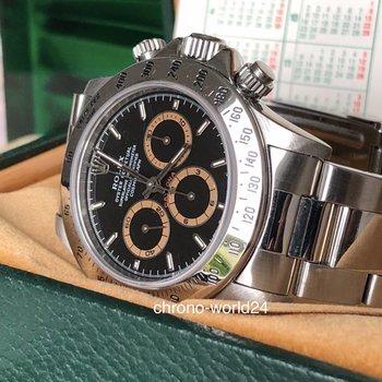 Rolex Daytona Zenith Ref. 16520 Patrizzi W8.. FULL SET /Amazing