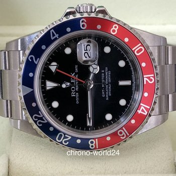 Rolex GMT - Master II 16710BLRO NOS/Sultan of Oman Rectangular Z1..