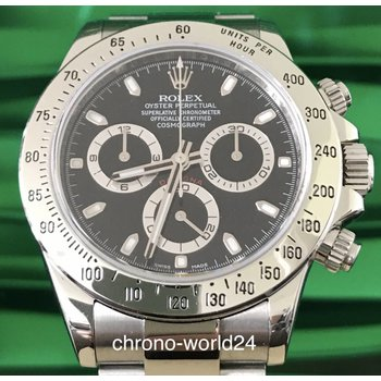 Rolex Daytona Ref.116520 TOP LC100 12/2015 Chromalight Box Papers TOP