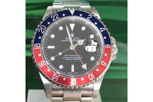 Rolex GMT-Master II Ref. 16710 Pepsi LC100 D Serie