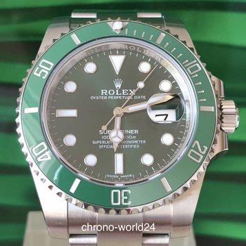 Rolex Submariner Date Ref. 116610 LV  2018 unworn box & papers