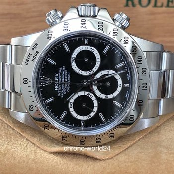 Rolex Daytona Zenith 16520 NOS A9  NOS FULL SET, with plastics