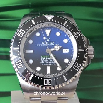 Rolex Deepsea D Blue James Cameron Ref. 126660   12/2018 box&papers unworn