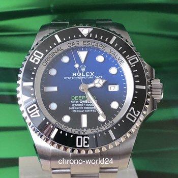Rolex Deepsea D Blue James Cameron Ref. 126660  2018/12 box& papers  unworn