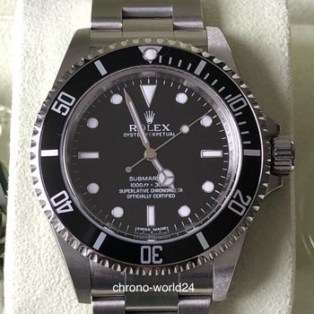 Rolex Submariner Ref. 14060M NOS all stickers G-Series 2012 B&P