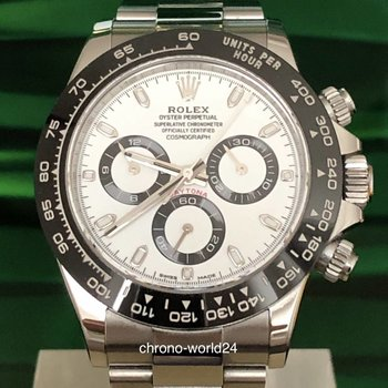 Rolex Daytona Ref. 116500 LN LC100 2019 unworn Box Papers
