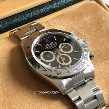 Rolex Daytona Zenith 16520 LC100 Patrizzi S..Serie Box&Papers inverted 6