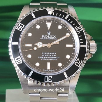 Rolex Submariner Ref. 14060M 2008 Box Papers TOP