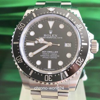 Rolex Sea-Dweller 4000 Ref 116600 2015 box & papers TOP