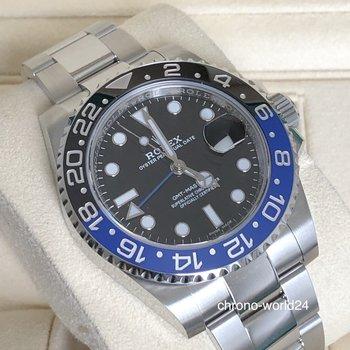 Rolex GMT-Master II Ref. 116710 BLNR LC100 2019 NOS unworn