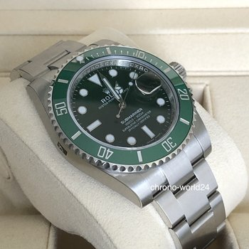 Rolex Submariner Date 116610LV  LC100 2018 unworn all stickers box&papers