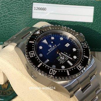 Rolex Deepsea D Blue 126660 LC100 unworn 2018 all stickers B&P