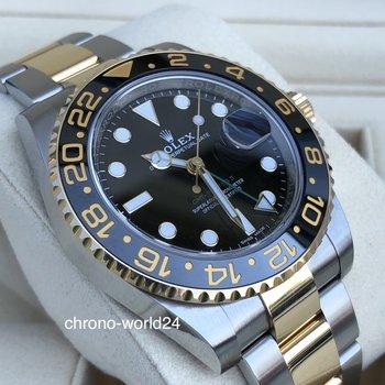 Rolex GMT - Master II 116713LN LC100 2019 unworn Box/Papers
