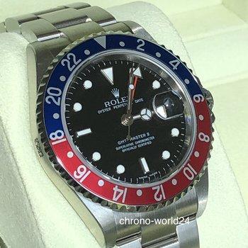 Rolex GMT-Master II 16710BLRO Rectangular Z7.. NOS Cal.3186 B&P