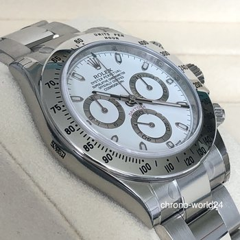 Rolex Daytona 116520 NOS LC100 2016 APH Dial FULL SET all stickers