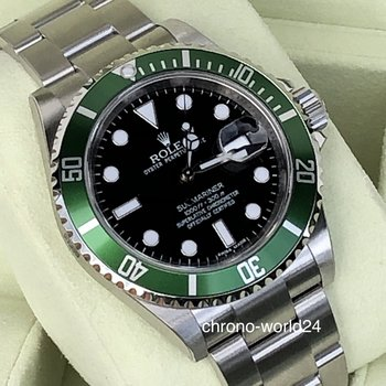 Rolex Submariner Date 16610LV NOS Random Series BOX & Papers