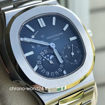 Patek Philippe Nautilus moon phases Ref. 5712/1A-001 unworn 2019 box&papers