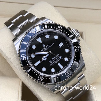 Rolex Sea-Dweller 4000 Ref 116600 2018 box & papers mint