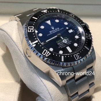 Rolex Deepsea D Blue 126660 unworn 2019 B&P
