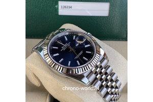 Rolex Datejust 41 Ref. 126334 blue 01/2019