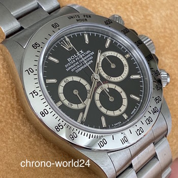 Rolex Daytona 16520 N3..  inverted 6 FULL SET one owner TOP serviced
