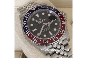 Rolex GMT-Master II Ref. 126710BLRO Pepsi