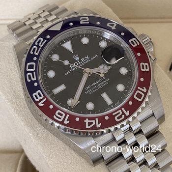 Rolex GMT - Master II 126710BLRO Pepsi unworn 2020 LC EU B&P -