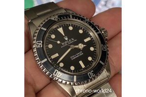 Rolex Submariner Ref. 5513 meters first