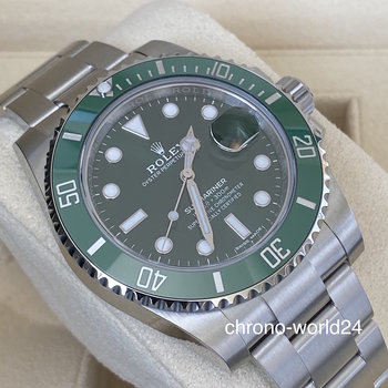 Rolex Submariner Date 116610 LV  2018  box & papers TOP