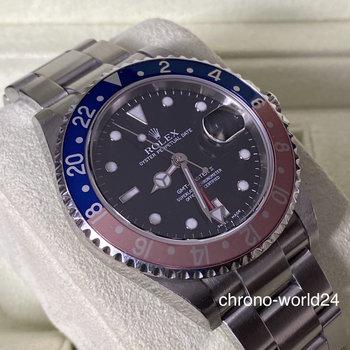 Rolex GMT-Master II 16710 Pepsi 2004 unpolished faded bezel LC EU TOP