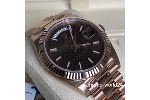 Rolex Day Date  Ref. 228235 chocolate dial