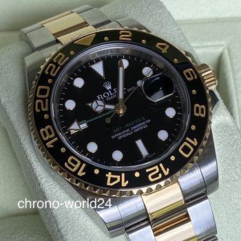 Rolex GMT - Master II 116713LN 2013 FULL SET LC EU