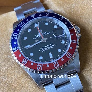 Rolex GMT-Master 16700 Pepsi NOS swiss only, unworn B&P RARE