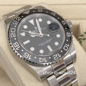Rolex GMT-Master II 116710 LN LC100 2017 like new Box&Papers