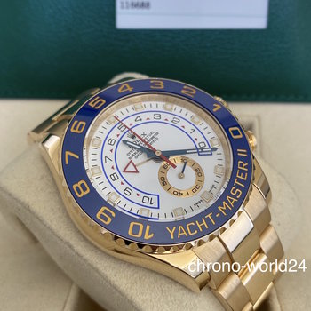 Rolex Yacht-Master II 116688 2015/07 FULL SET Europe TOP