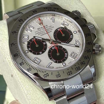 Rolex Daytona 116520 LC100 Racing Dial red hands 2011 B&P TOP