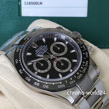 Rolex Daytona Ref. 116500LN black 2017 Box & Papers Europe TOP