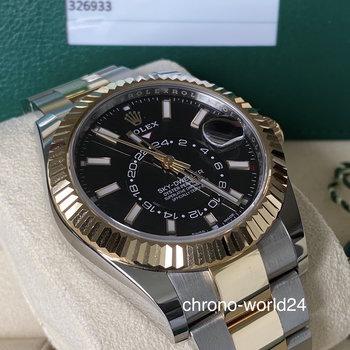Rolex Sky-Dweller 326933 2019 LC100 black unworn Full Set