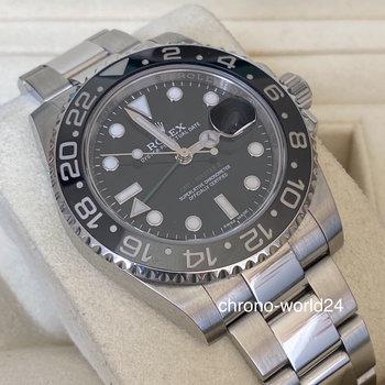 Rolex GMT-Master II 116710LN LC100 FULL SET + orig. invoice 2016