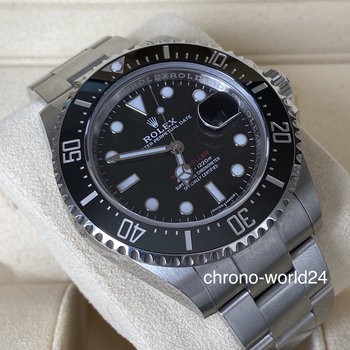 Rolex Sea-Dweller Single Red 126600 MK1 2017/07/07 unpolished B&P TOP