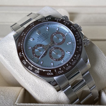 Rolex Daytona Platin Ref.116506 2016, EU, unpolished Box&Papers TOP